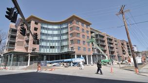 Bonacio Construction in Saratoga Springs and The Galesi Group in Rotterdam teamed up on The Market Center at Railroad Place. Financing is provided by First Niagara. Olsen Associates of Saratoga is the architectural firm.