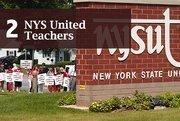 Top of the List: Labor UnionsRank: 2NYS United Teachers800 Troy Schenectady Road, Latham  Total assets: $103.5 millionPresident: Richard Iannuzzi