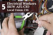 Top of the List: Labor UnionsRank: 5Electrical Workers IBEW AFL-CIO Local Union 2363000 Troy-Schenectady Road, SchenectadyTotal assets: $10.8 millionPresident: Mark Lajeunesse