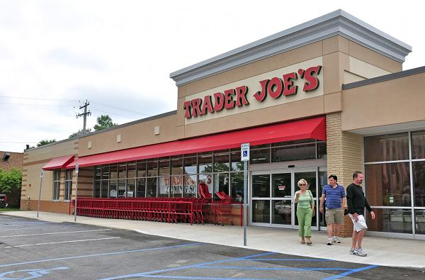 A Trader Joe's store in Albany, N.Y.