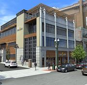 A rendering of Transfinders new headquarters on State Street in Schenectady.