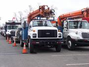 Ready to go: National Grid is receiving help dealing with Hurricane Sandy's aftermath from utilities from as far away as Colorado, Michigan and Wisconsin.