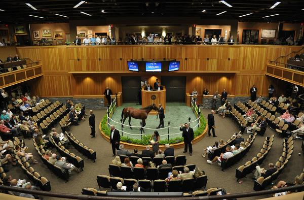 Fasig-Tipton said that the pool of horses for sale at both of its August auctions grew 20 percent. That surge in breeding prompted Fasig-Tipton to add a third auction in October.