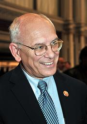 Congressman Paul Tonko was among the 200 or so people at the mayor's speech.
