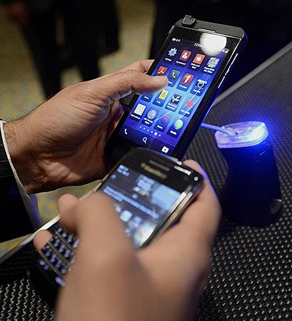 BlackBerry plans to become a provider of systems for businesses to manage their smartphone use.