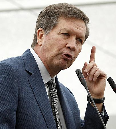 Gov. Kasich called his dispute with Ohio Auditor Dave Yost a misunderstanding.