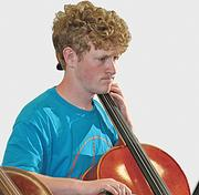 Conor Brinser plays in the Bethlehem High School orchestra. The Bethlehem schools in Albany County placed first on the latest Business Review list, up from No. 2 last year.