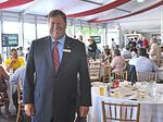 Doing business at the Saratoga Race Course