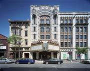 The exterior of the former Proctor's Theater in Troy, New York.