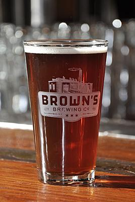 Brown's brewed 2,650 barrels of beer in 2011, a 13 percent increase from 2010.