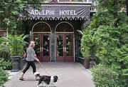 The 136-year-old Adelphi Hotel in downtown Saratoga Springs, NY is undergoing a $6 million to $7 million interior renovation.