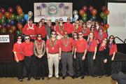 """The future's so bright ..."" Some went with shades to the Best Places to Work event."