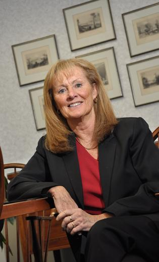 Claudia Ryan, principal and president of Towne Ryan & Partners, the largest majority woman-owned law firm in the Capital Region of New York.