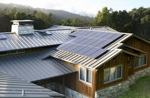SolarCity works with customers from schools to Fortune 100 companies to sell, design, install and maintain solar systems like this.