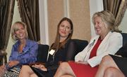 Trish Rost, Annemarie Lanesey and Barbara Hess share a laugh.