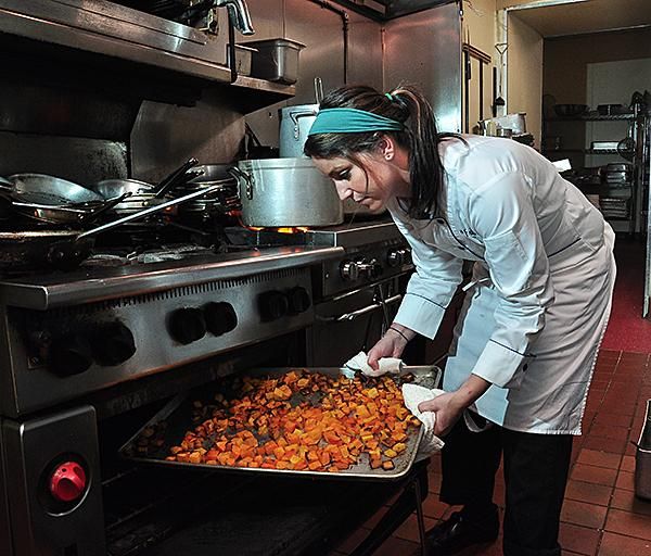 Courtney Withey, executive chef at Aperitivo Bistro in Schenectady