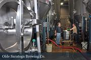 Olde Saratoga Brewing Co. has invested $60,000 in new equipment in the last year to expand brewing operations.