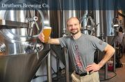 George de Piro, chief brewing officer at Druthers Brewing in Saratoga Springs. Druthers invested more than $2.5 million to open the new brewery.