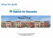 Non-Profit of the YearCapital District Habitat for Humanity