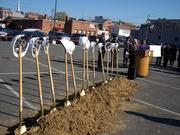 Shovels and hard hats. A ceremonial ground breaking was held today to mark the start of an $11 million construction project. Schenectady County Community College expects the new housing complex will be ready for occupancy in August 2012.