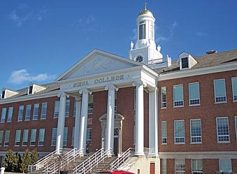 The private, four-year college plans to have the building open for the fall 2013 semester.