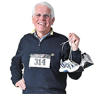 """""""I have always been an exercise nut, but I started running about a year ago. I run about 20 miles a week,"""" says Lazar. """"I am not a fast runner, but I am a 5k runner. I want to run a 5k with all seven of my grandchildren. """""""