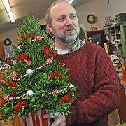 Mark Felthousen's florist has been in business 93 years, but he's had to adapt to competition online.