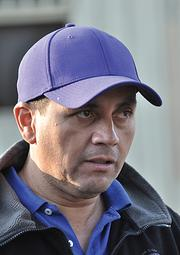 Faces of the Backstretch: Marcelo Arenas, 40, is an assistant trainer from Chile.