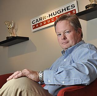 """Jim Carr, senior producer/director of Carr-Hughes Productions in Saratoga. """"This will not be a hard-core racing show. It's more about the beauty, history and lifestyle of the area."""