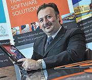 Transfinder President and CEO Antonio Civitella announced in June that the software developer would be expanding and investing in downtown Schenectady.