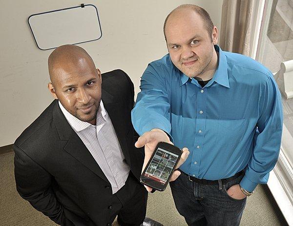 Condor CEO Steven Flenory and co-founder Vitaly Babiy.