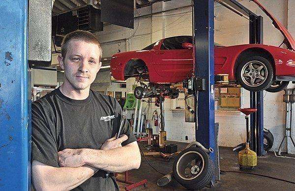 DePaula Chevrolet technician Kevin McDevitt.
