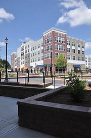 Just north of Park Place is Ellsworth Commons, which consists of four buildings with 312 apartments and 68,000 square feet of commercial space.