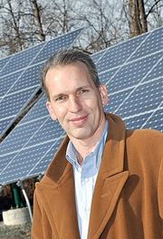 Mark Fobare, president and CEO of Monolith Solar Associates, says Mitt Romney's not a big fan of tax incentives to renewable energy companies, and that concerns him.