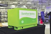 The Durathon battery, end product at General Electric Co.'s new Schenectady plant.