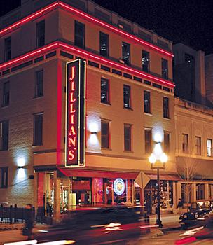Jillian's, downtown Albany bars, nightclubs