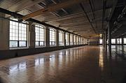 The old factory floor will be transformed into 120 apartments with an interior courtyard.