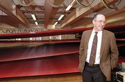 Albany International CEO Joseph Morone tours the manufacturing plant in 2006.