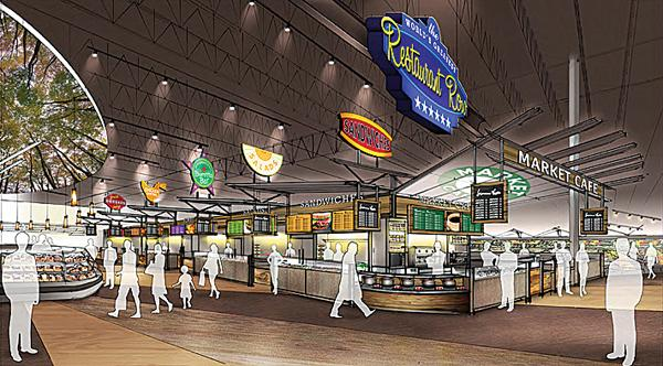 Rendering of Price Chopper's new prototype store to be introduced in Latham.