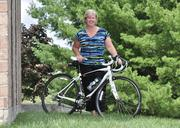 Kathleen Pingelski, president of MicroKnowledge in Colonie, New York, devoted herself to a more active lifestyle 18 months ago, and she sees other people in her office adopting a more active lifestyle, too.