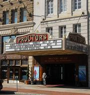 The marquee at Proctors. The vaudeville-era theater in Schenectady ranked No. 2 on the list.
