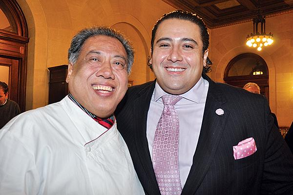 Yono Purnomo and son Dominick Purnomo of Yono's restaurant in Albany, NY