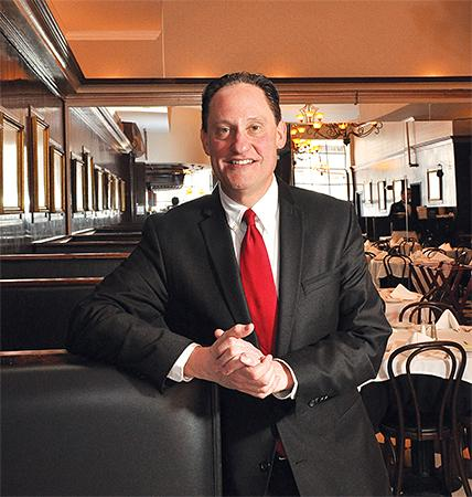 """Brad Rosenstein, above, is the third-generation owner at Jack's Oyster House in downtown Albany. """"I plan on staying as long as I'm wanted,"""" he says."""