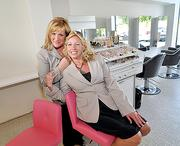 From left, owners Marri Aviza and Lisa Norgrove of Rumors Salon & Day Spa and Rumors IV Men.