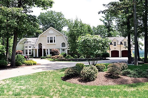 This house near Saratoga Lake was the top seller in the area for 2012, at $2.25 million.