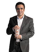 Hamdi Ulukaya, Chobani's founder, president, and CEO, was a Business Review 40 Under Forty Honoree in 2009.