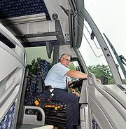 """A Yankee Trails driver is pictured in this file photo.Yankee TrailsAbout: Based in Rensselaer, provides bus tours, chartered buses and other travel- and tourism-related servicesImpact: Company has made at least 20 trips to provide transportation for people stranded by storm, including a group of students that was supposed to travel by Amtrak to New York City to catch a flight to Germany. Much of Amtrak's East Coast service was suspended following the storm. The company, which developed an emergency action plan after the 2001 terrorist attacks, also transported 100 ConEdison employees from Westchester County Airport to Tarrytown, another area hard-hit.Quotable: """"We were calling drivers at midnight on a Friday,"""" says Stephen Tobin, president. """"Nobody even flinched. They knew what it was for and they wanted to help."""""""