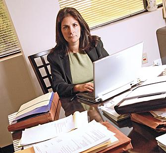 Paula Barbaruolo, a bankruptcy attorney in Latham, is among the area attorneys preparing for foreclosures to drive an increase in new bankruptcy cases this year.