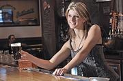 Bartender. Massachusetts has 16,430 bartenders, making between $23,310 and $26,950 at the middle range.