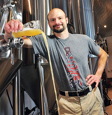 George de Piro, Chief brewing officer/founding partner of Druthers Brewing Co., Saratoga Springs